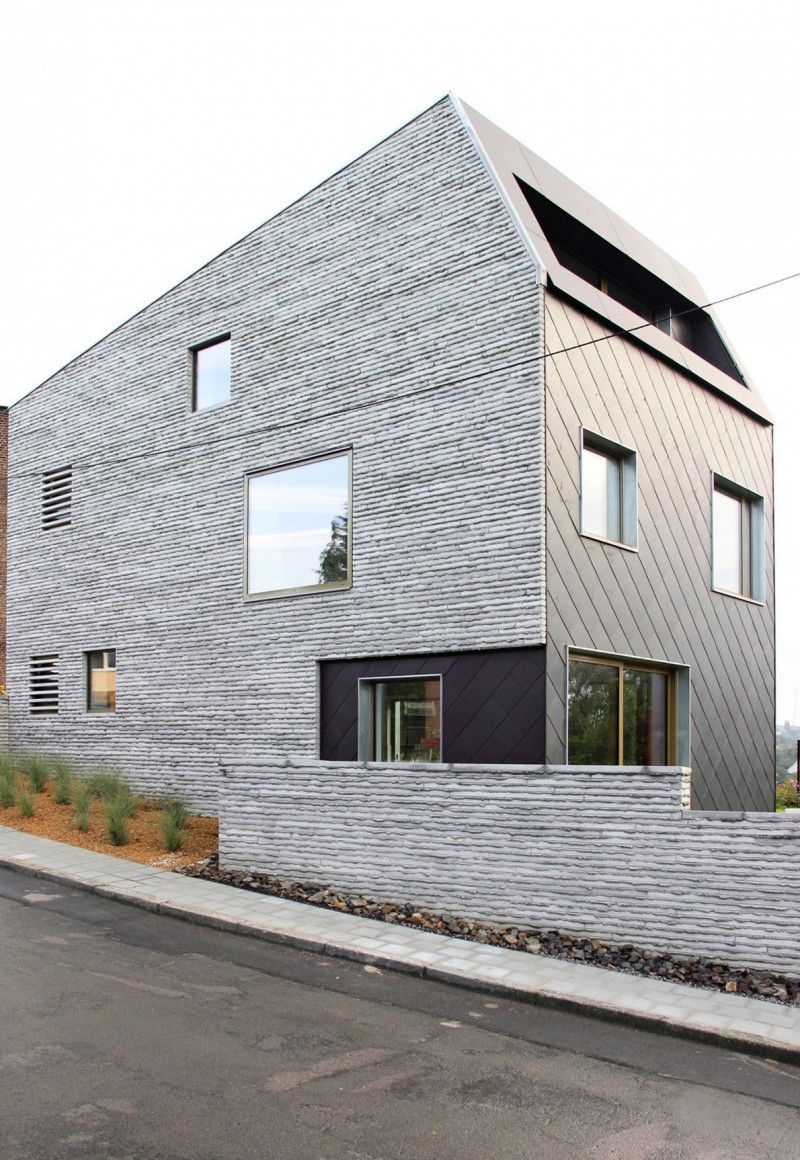 Wall House By And Rol Architecture Architecture House Concrete House