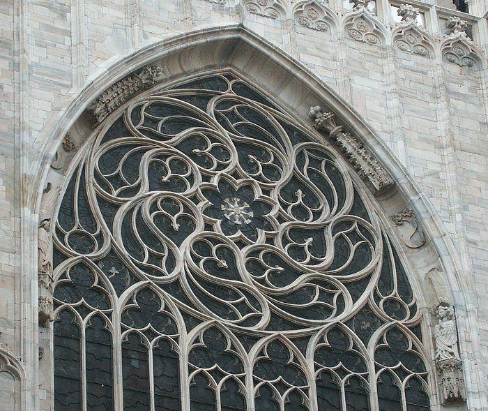 Gothic Architecture Windows 01