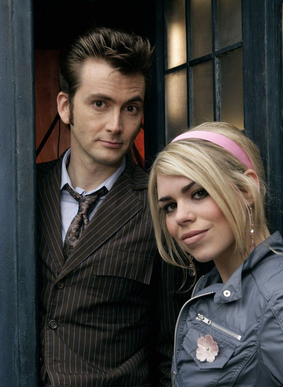 David Tennant (Tenth Doctor) & Billie Piper (Rose)