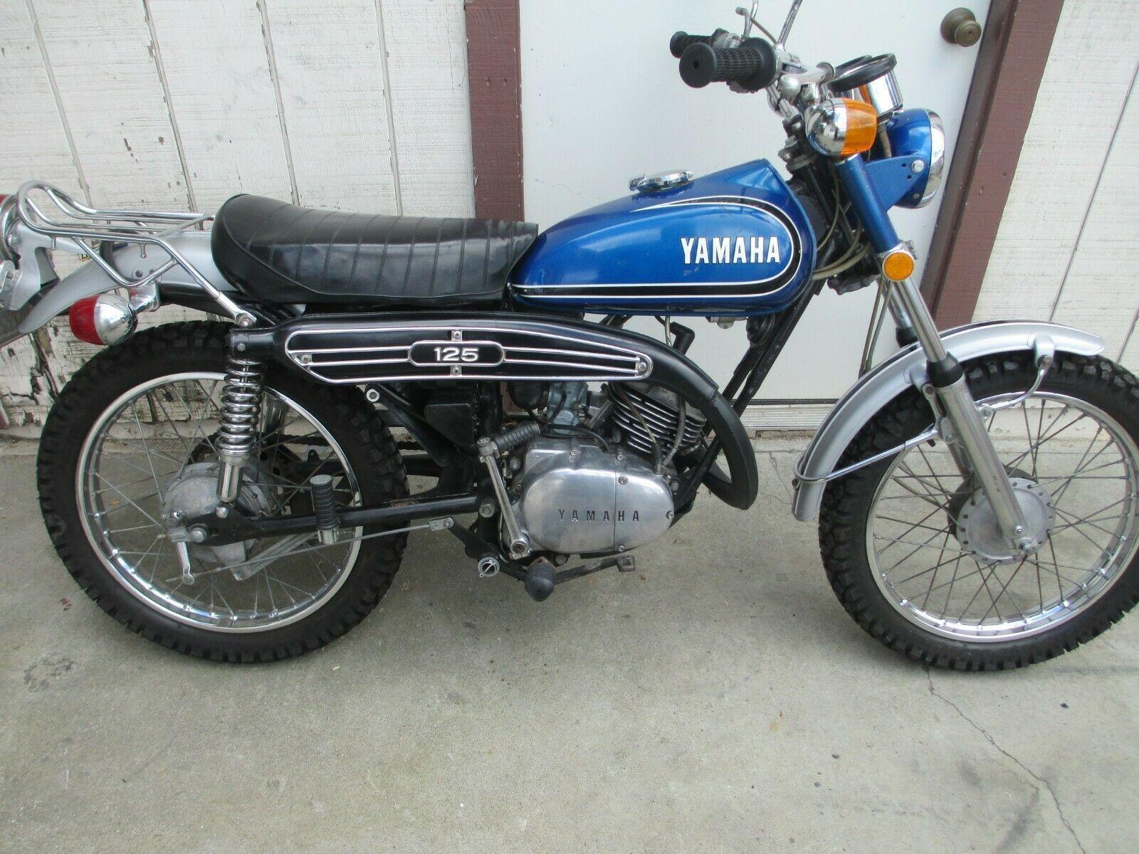 1973 Yamaha At1 125 Enduro Yamaha Vintage Bikes Motorcycles For Sale
