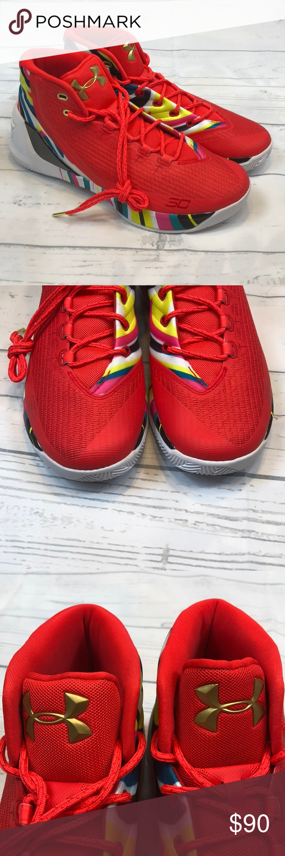 2fd95503099f Under Armour Steph Curry 3 11.5 Chinese New Year NEW Mens Under Armour UA  Steph Curry 3 SZ 11.5 Chinese New Year CNY 1269279-984 No box Under Armour  Shoes ...