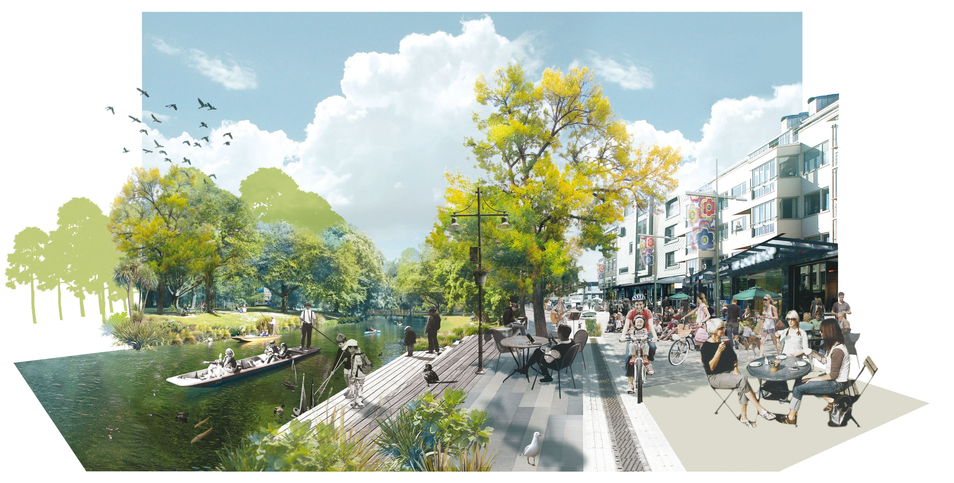 Rising from the ashes architects reveal stunning designs for Landscape architect christchurch