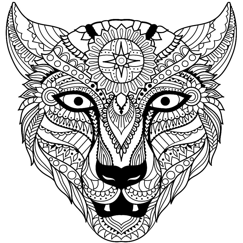 Dier Luipaard Designs Coloring Books Doodle Art Designs Animal Coloring Pages