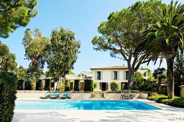Griogrio Armani's Saint-Tropez vacation home