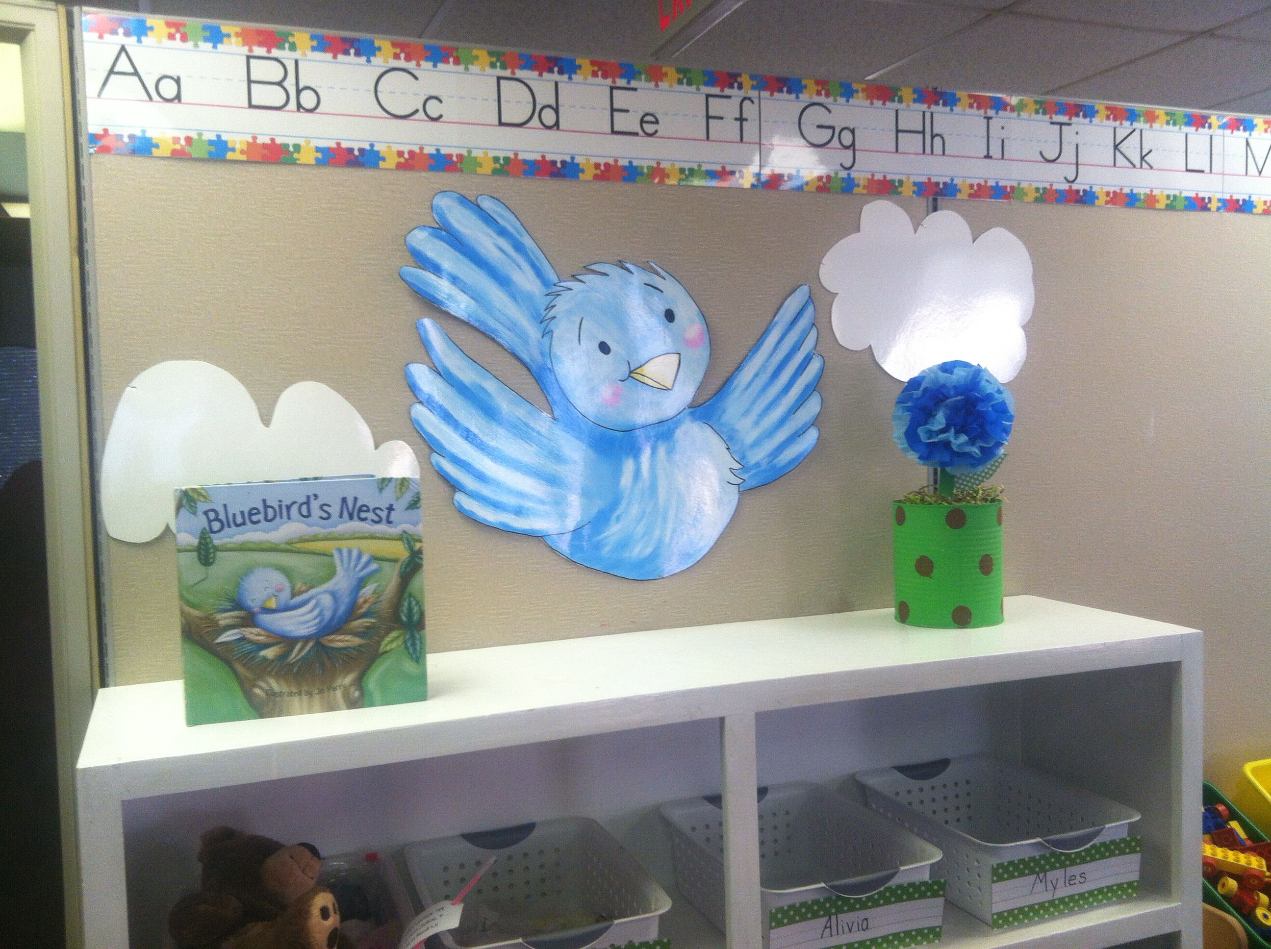 The Blue Birds Nest Class Room Theme Filler With