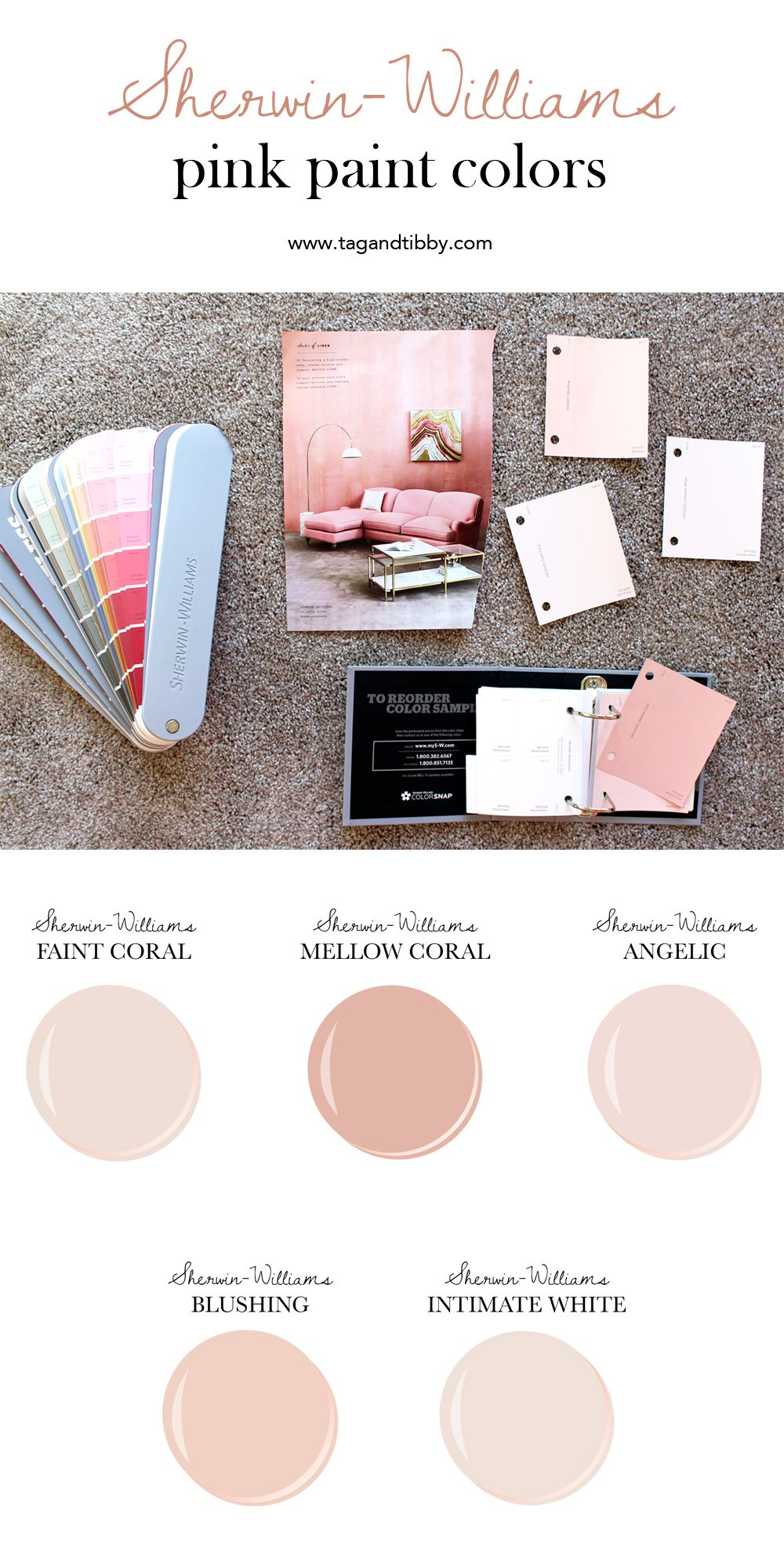 From Soft Cs To Blush The Best 5 Pink Sherwin Williams Paint Colors