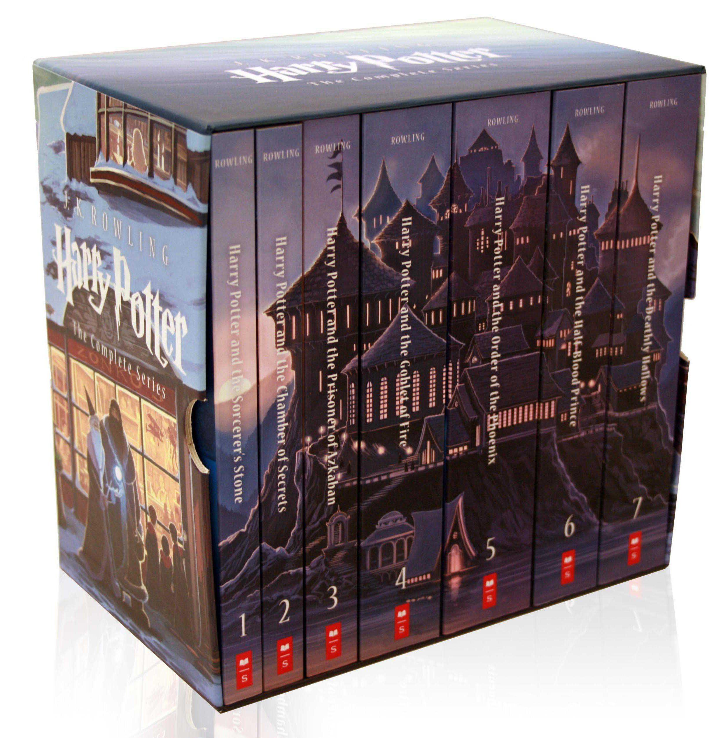 Harry Potter By J K Rowling Harry Potter Scholastic Harry Potter Book Set Harry Potter Box Set