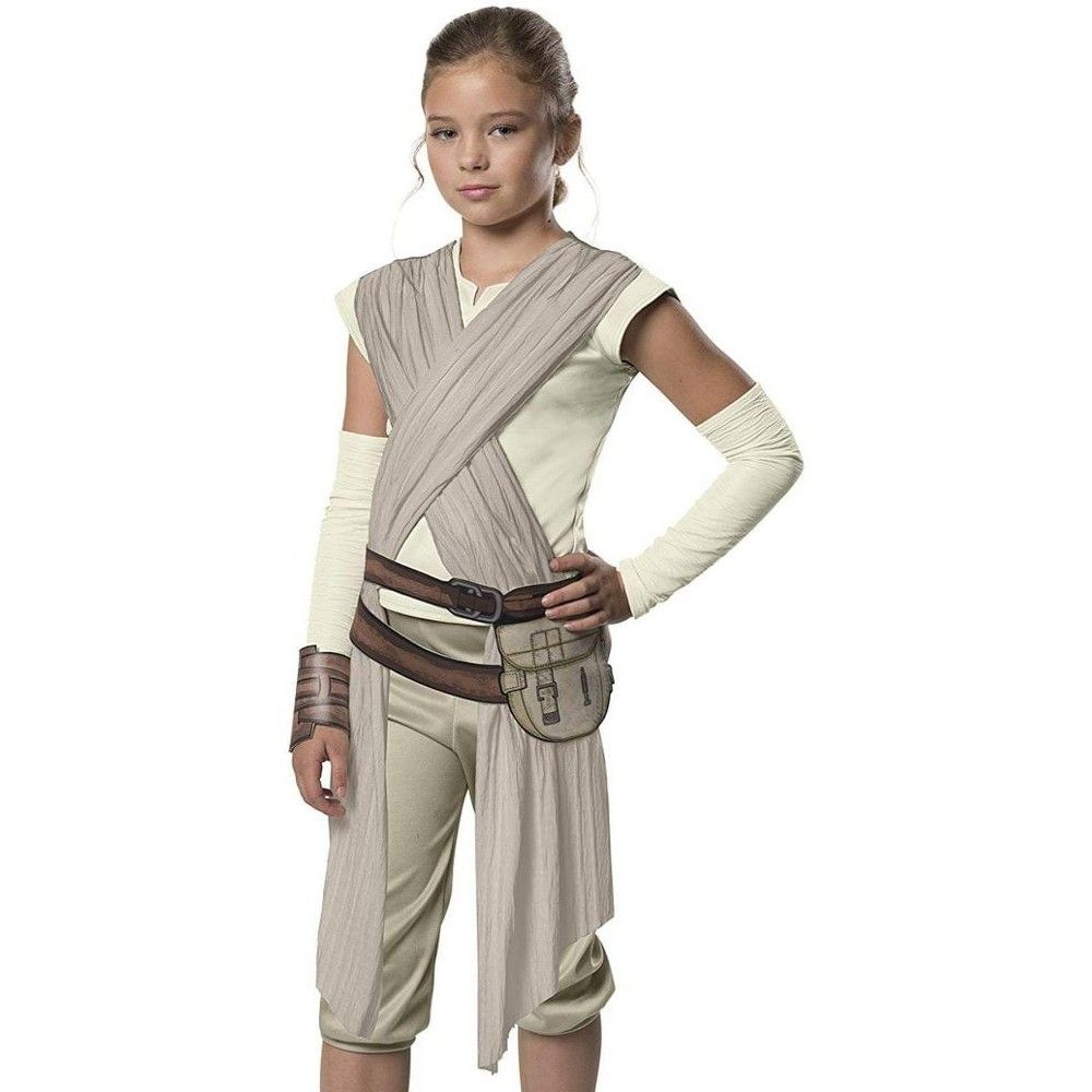 The Force Awakens Rey Child Costume Disney Girls Star Wars Costume Star Wars