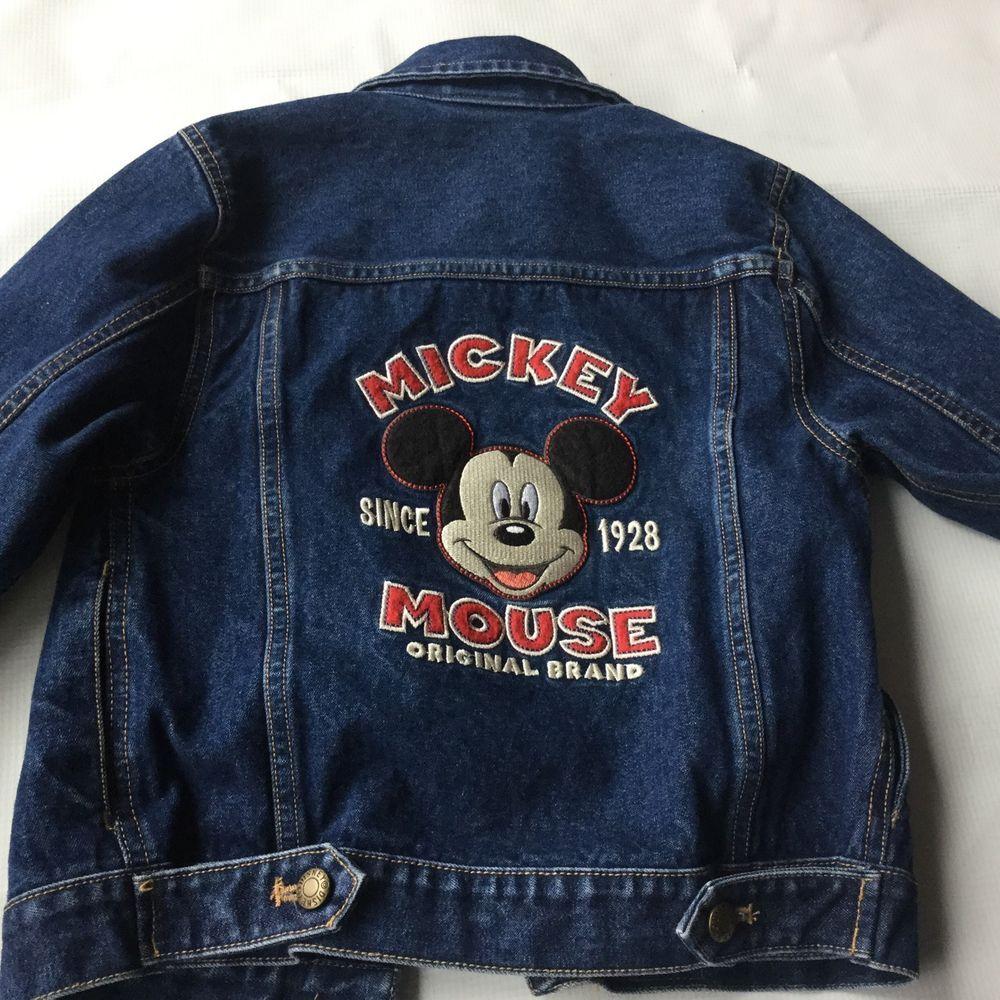 Toddler Disney Store Denim Jacket Mickey Mouse Sz 4 5 Xs Disney Jacket Denim Jacket Jackets [ 1000 x 1000 Pixel ]