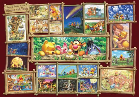 DG-2000-529 Tenyo Disney Winnie the Pooh Collections Jigsaw Puzzles