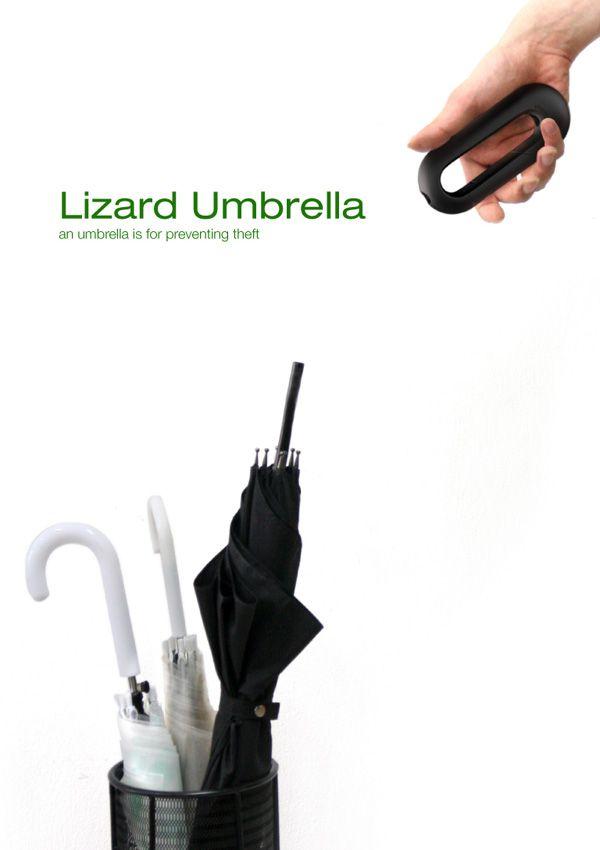 Lizard Umbrella by Kim Seokhui, Kim Seongjin & Kim Dasol