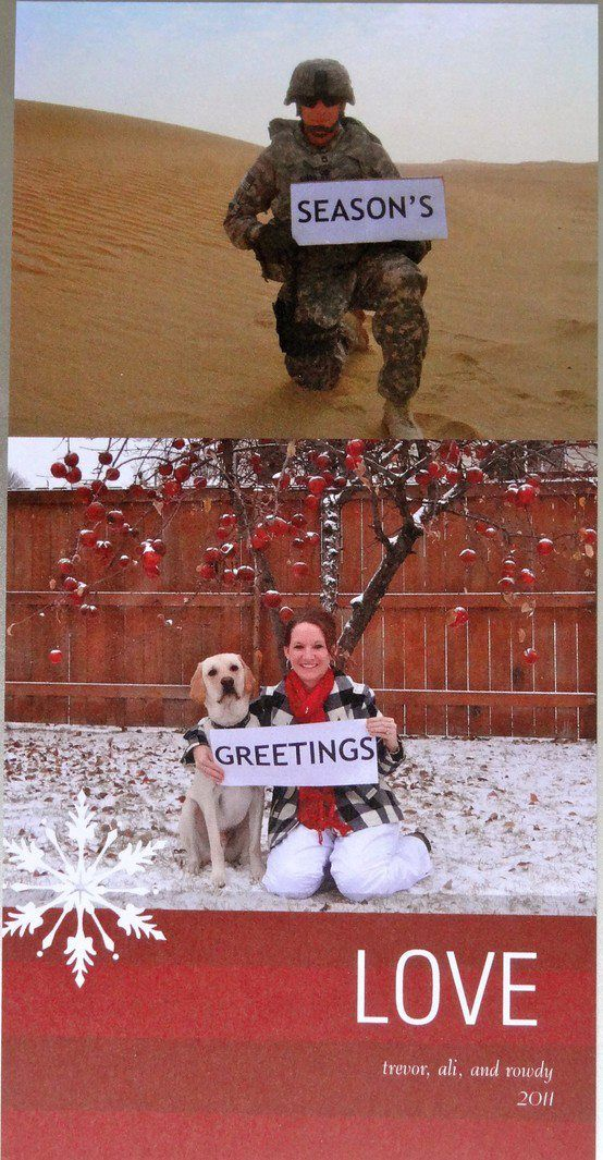 37 Awesome Christmas Card Ideas You Should Steal   My Style ...