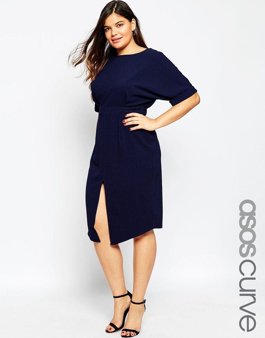 Bild 1 von ASOS CURVE – Kleid mit Cutouts hinten | asos | Pinterest ...