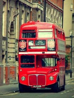 Download Free London City Bus Mobile Wallpaper Contributed By
