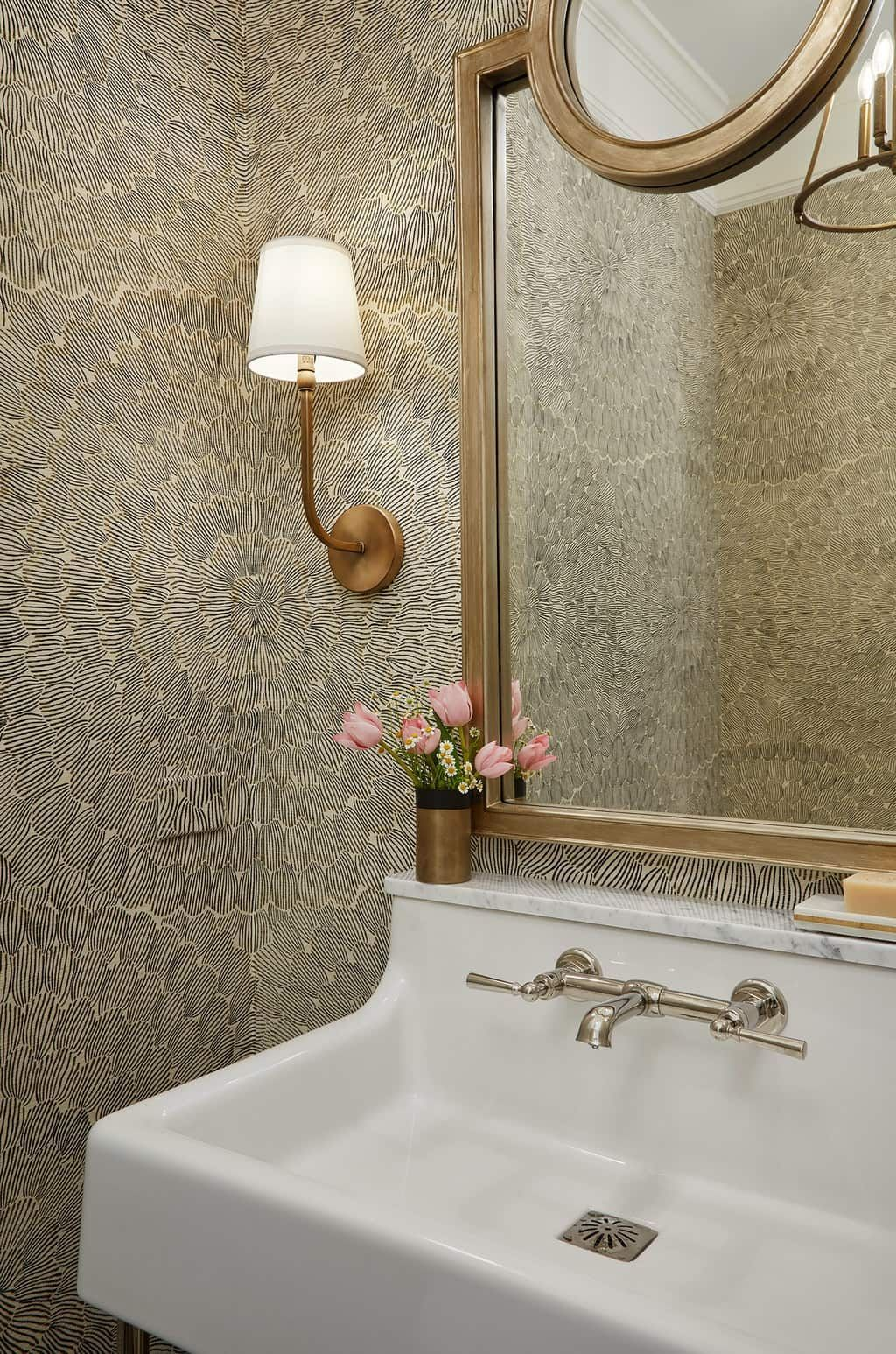 Fixing Water Leaking From Upstairs Bathroom To Downstairs 101 Living Room Decor Video Powder Room Decor Ferguson Showroom