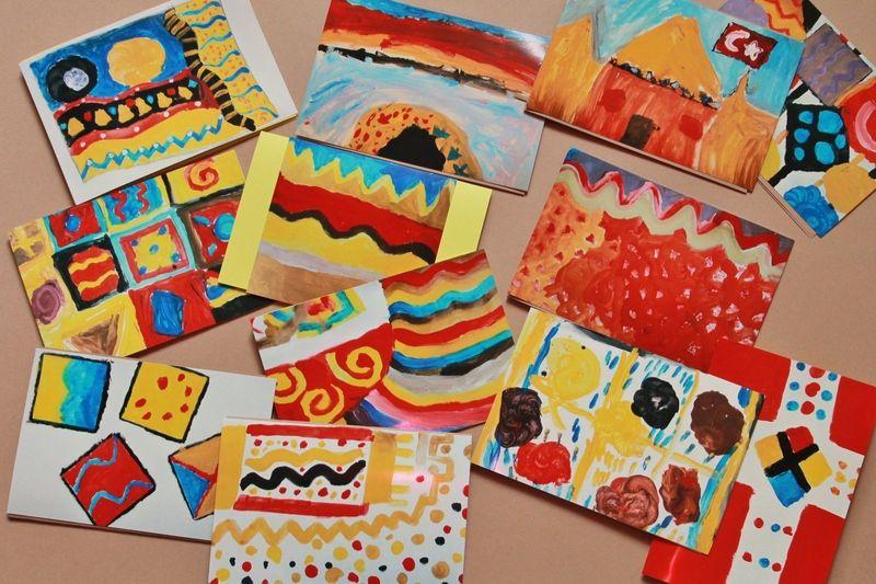 Im Rahmen der 6. Aktion KunstRaub mit dem Titel MusterHäuser inspiriert von der +Kunst der Frauen von Mauretanien, Senegal, Mali, Elfenbeinküste, B...