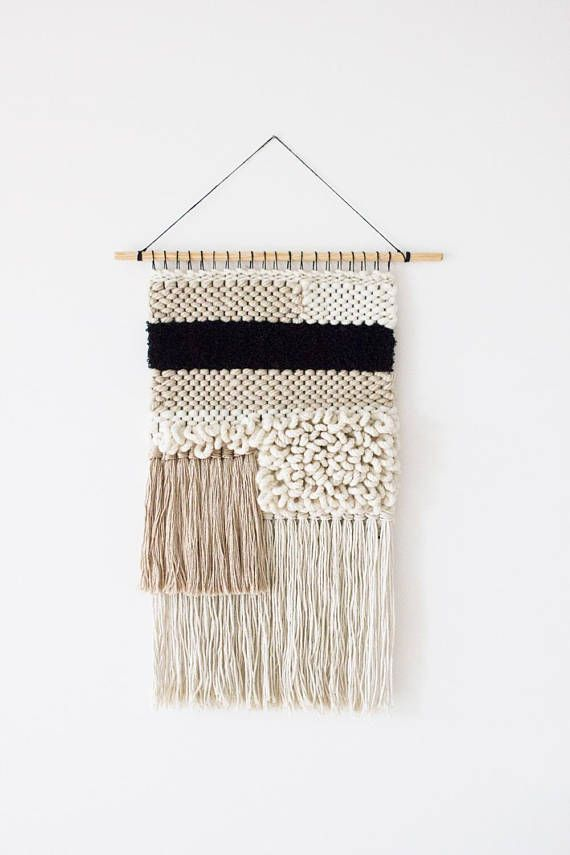 Modern Tapestry Weaving Woven Wall Hanging Weaving Woven Wall Art Tapestry Wall Hanging Wool Wall Hanging Textile Fiber Art Wool Wall Hanging Woven Wall Hanging Tapestry Weaving