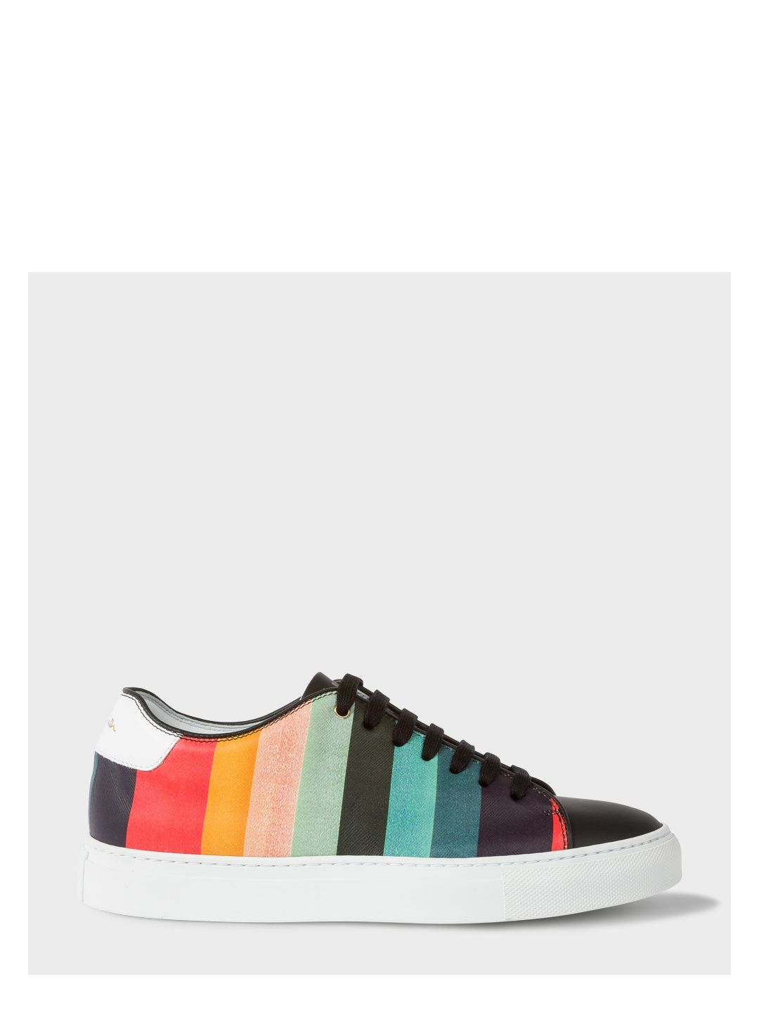 e3f5ad9b145 PAUL SMITH Women s  Artist Stripe  Leather  Basso  Trainers.  paulsmith   shoes