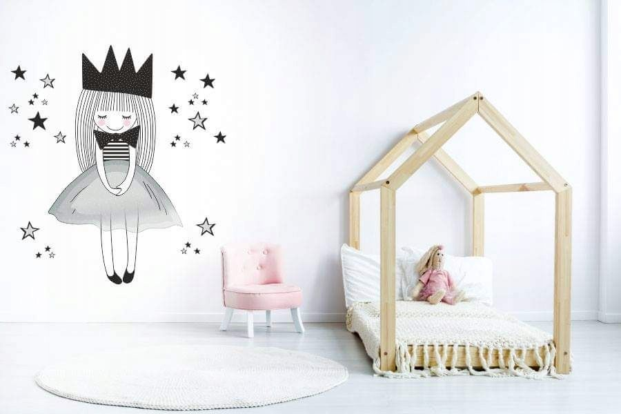 Kup Teraz Na Allegro Pl Za 119 00 Zl Naklejka Ksiezniczka Princess 12 Kolorow Xxl 7772288487 Allegro Pl Radosc Zakupow I Toddler Bed Home Decor Bed