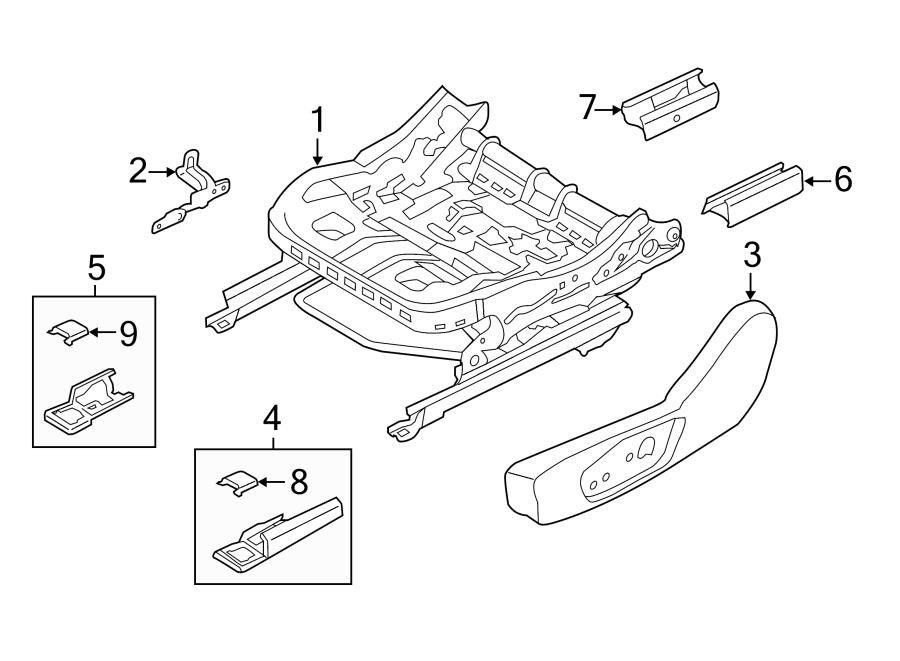50 2014 ford Escape Parts Diagram Tq9m di 2020