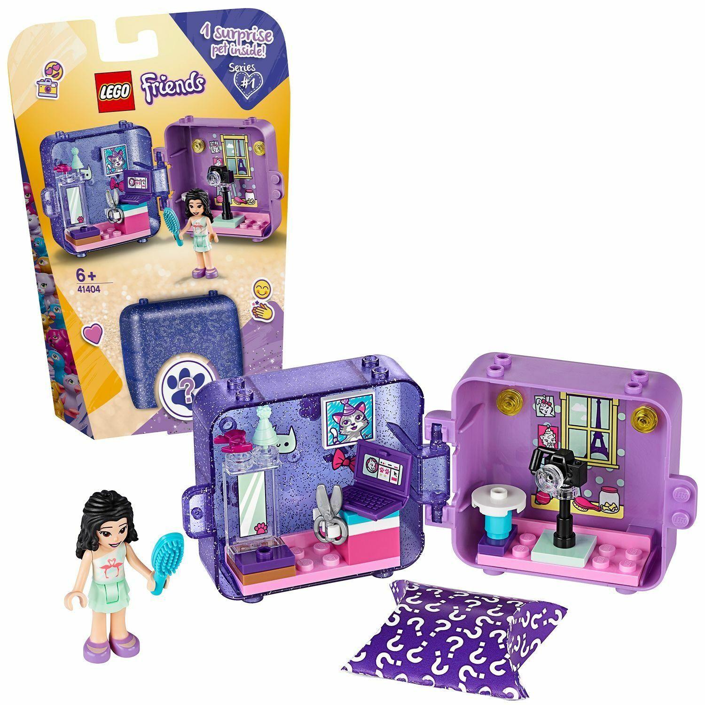 Buy Lego Friends Emma S Play Cube Playset Series 1 41404 Lego In 2020 Lego Friends Play Cube Buy Lego