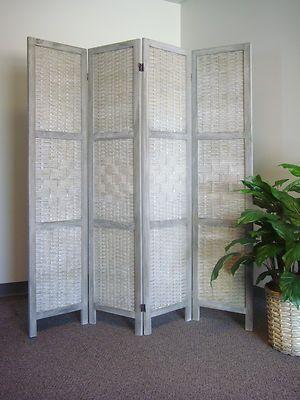 room 4 panel floor folding screen room divider