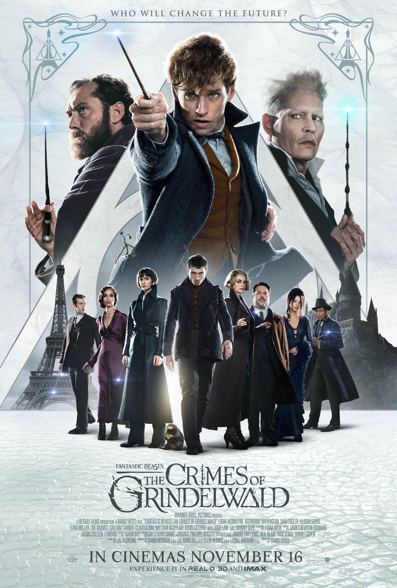 Fantastic Beasts The Crimes Of Grindelwald 2018 Fantasticbeasts