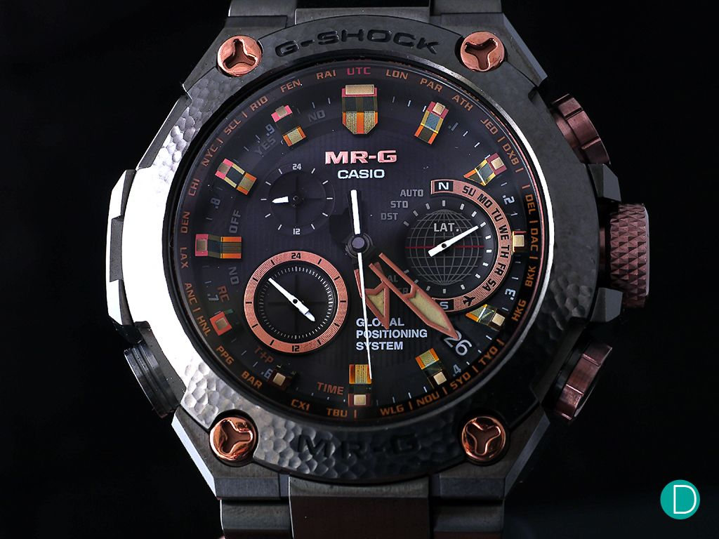 how to adjust hands on g shock watch