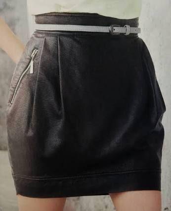 Resultado de imagem para saias sociais com bolso