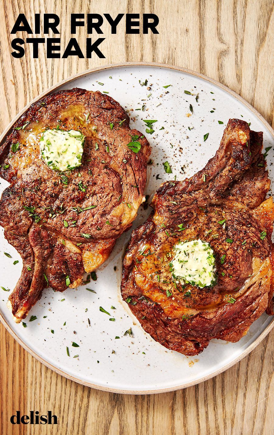 For Perfect Steak Turn To Your Air Fryer Recipe Air Fryer Recipes Healthy Air Fryer Steak Recipes