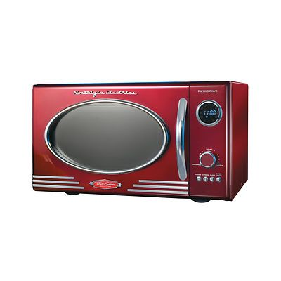 Nostalgia Electrics Retro Microwave Oven Ping S On Products Group Microwaves