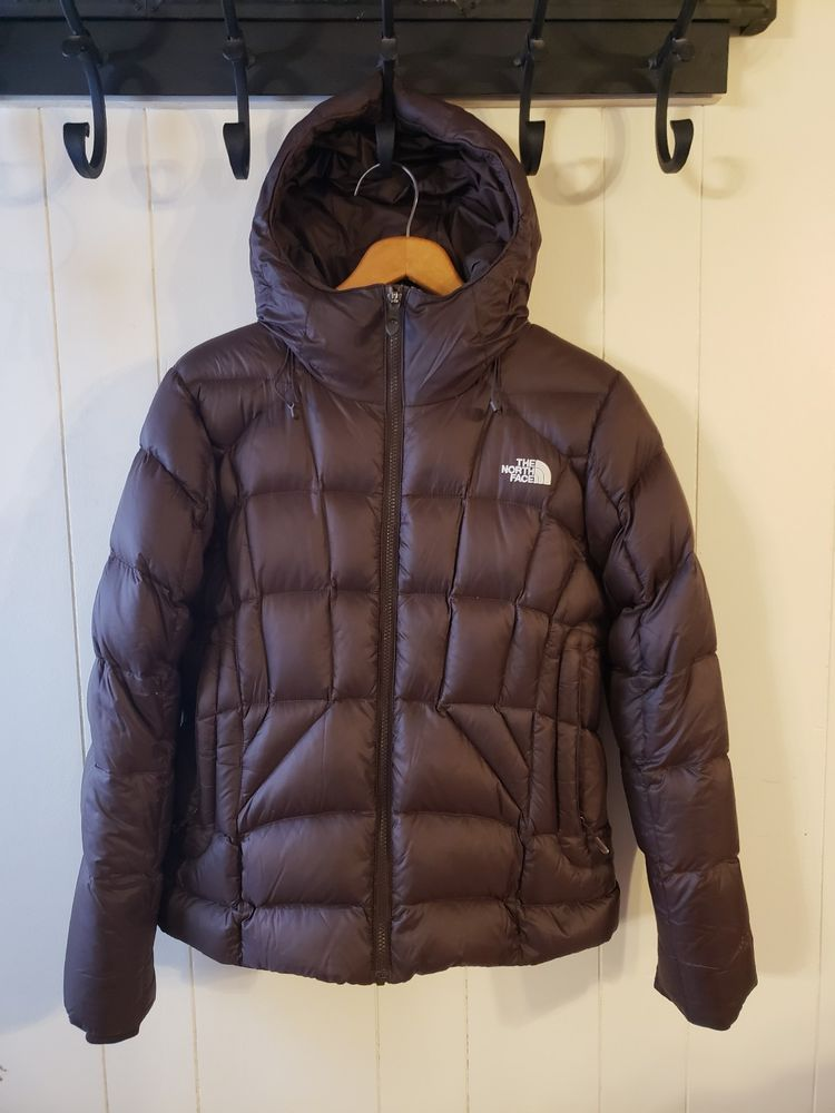 b90a6f77a The North Face 600 goose Down Coat womens size Medium brown puffer ...