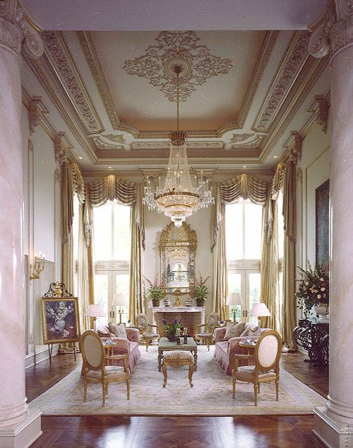 Drawing room - Room Setting Louis XV   via Mastour Galleries   1 ...