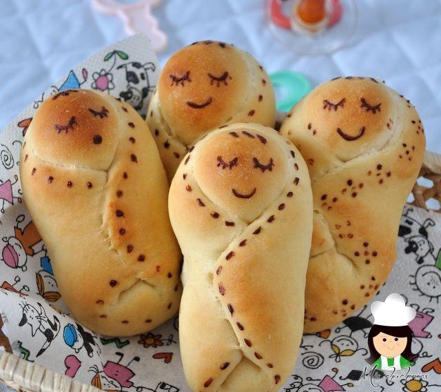 pan, bread, baby bread, pan bebé