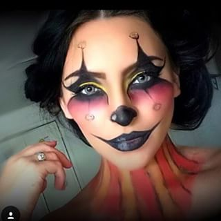 clown makeup pinterest clown makeup makeup and halloween makeup. Black Bedroom Furniture Sets. Home Design Ideas