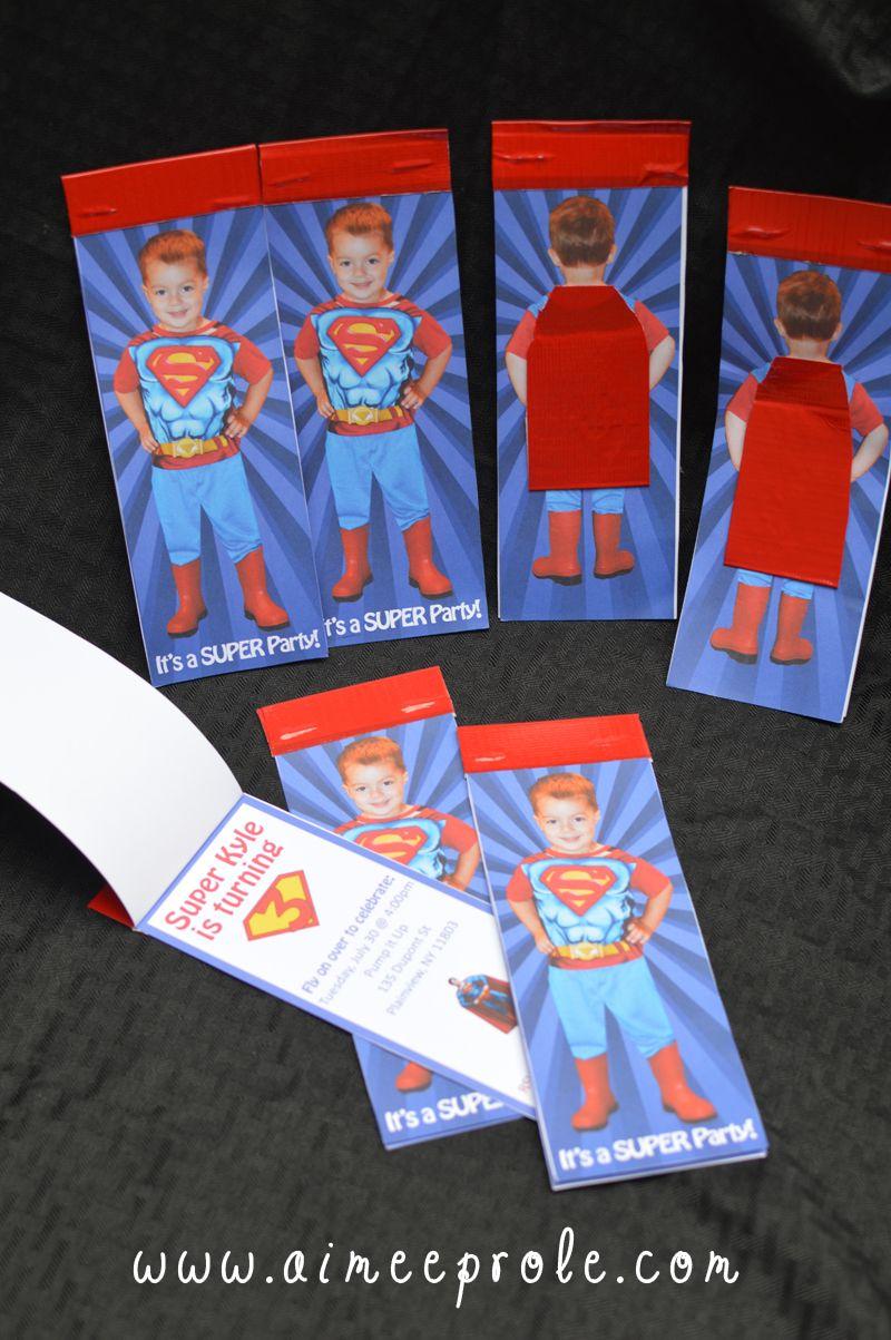 Superman Invite
