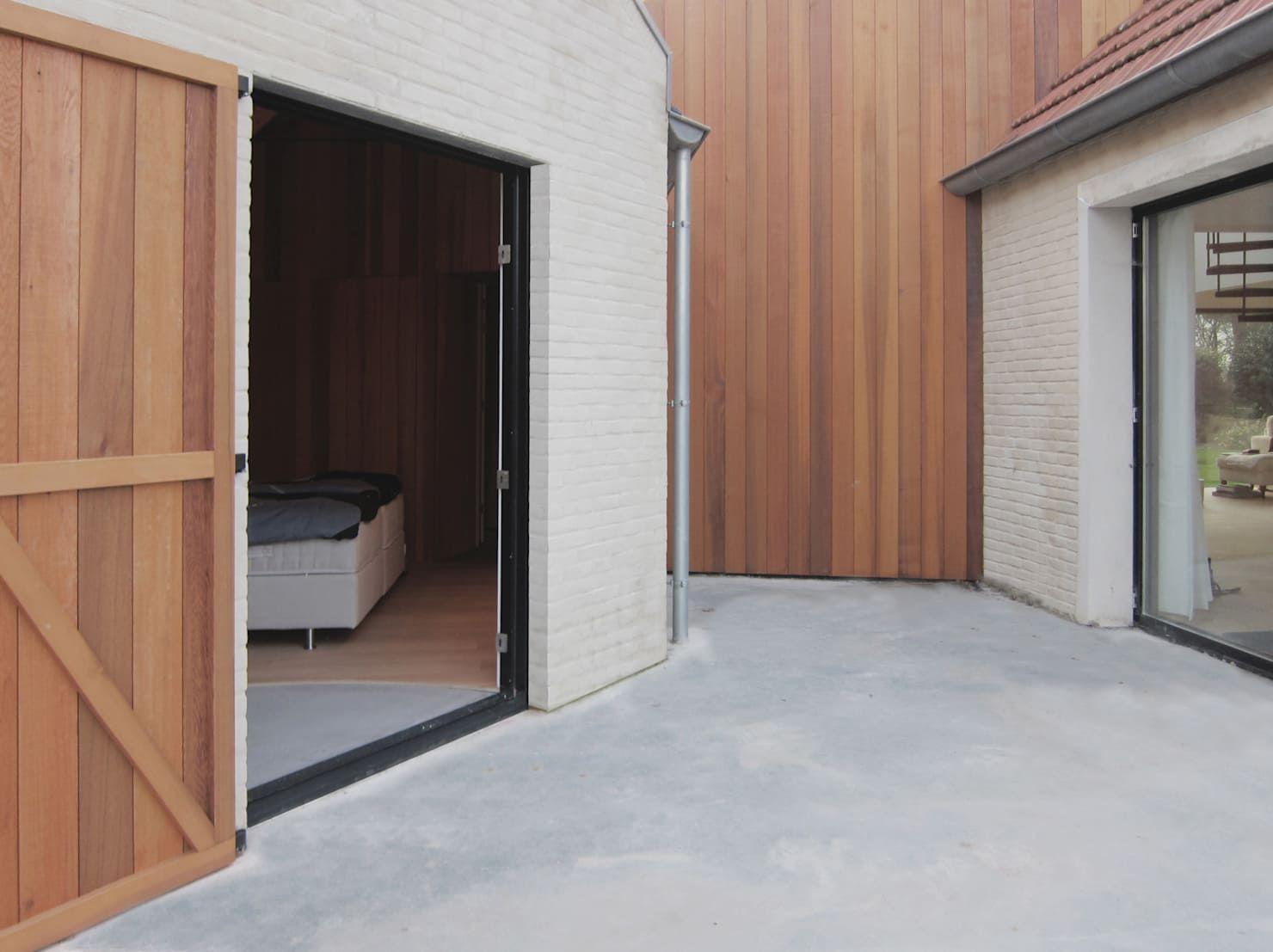 Küchendesign für bungalowhaus moderner umbau eines bauernhauses aus backstein  renovieren  pinterest