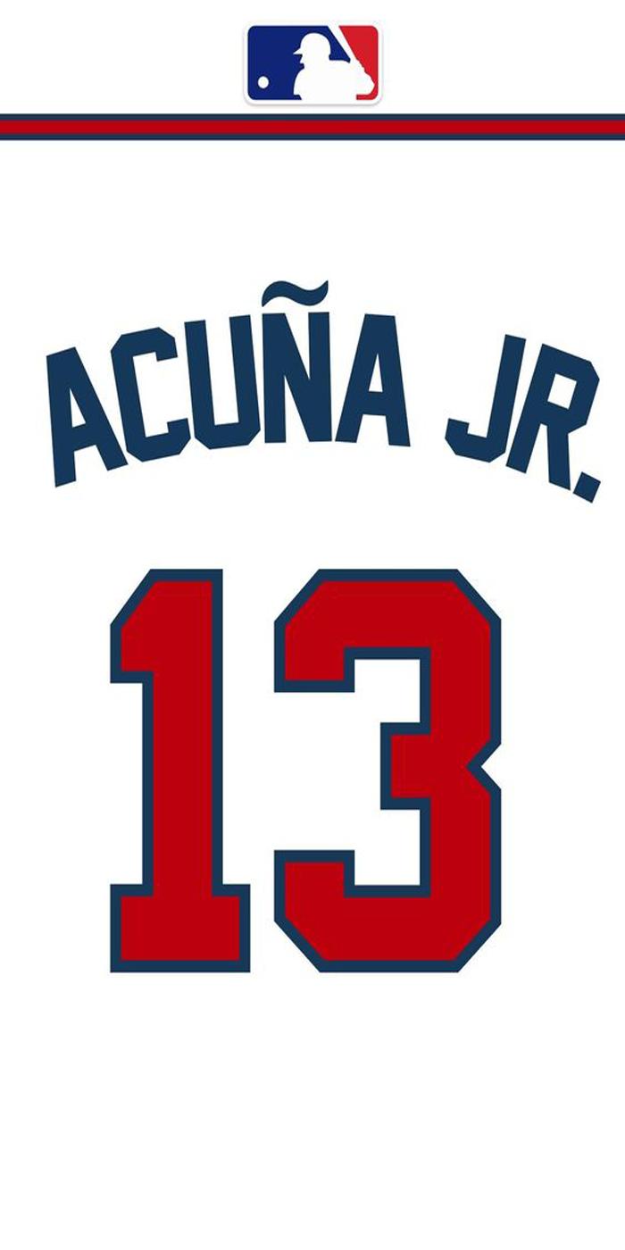 Acuna C Jr Jersey Atalanta Baseball Atlanta Braves Iphone Wallpaper Atlanta Braves Wallpaper Braves Iphone Wallpaper
