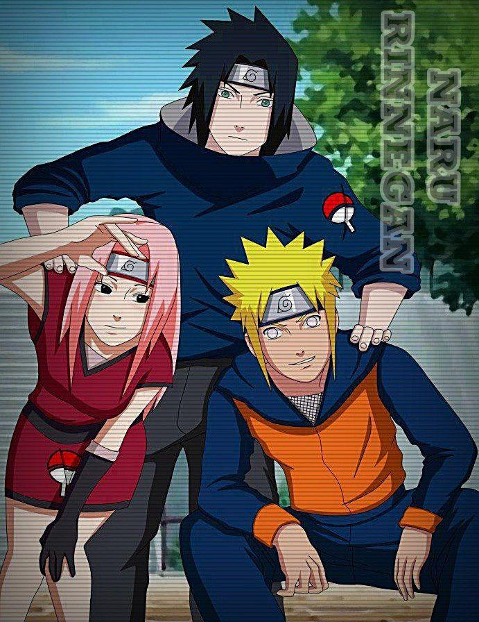 Sakura gang banged naruto