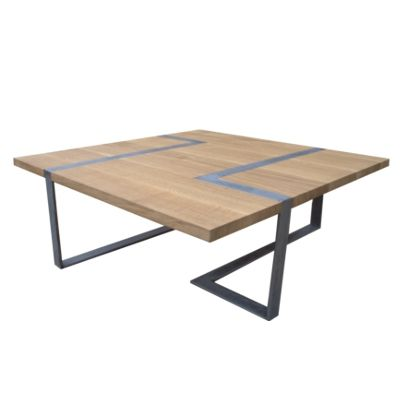Table Basse Design Bois Et Mtal  Deco    Table Basse