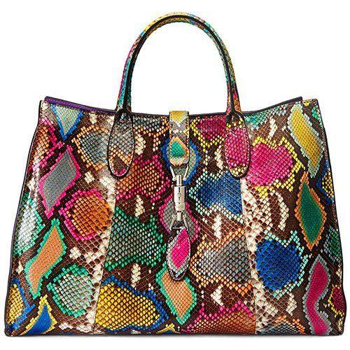 0c3edb8ebf8589 Gucci multicolored snake print handbag …   What's in your PURSE? in ...