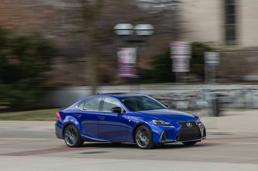 Tested 2020 Lexus Is350 F Sport Awd Is Showing Signs Of Age Bike Sports Sporty