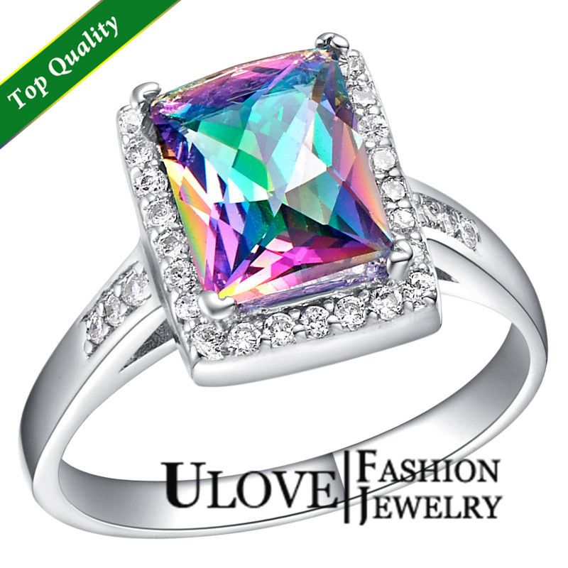 Colored Wedding Ring Wedding Ideas Pinterest Colorful weddings