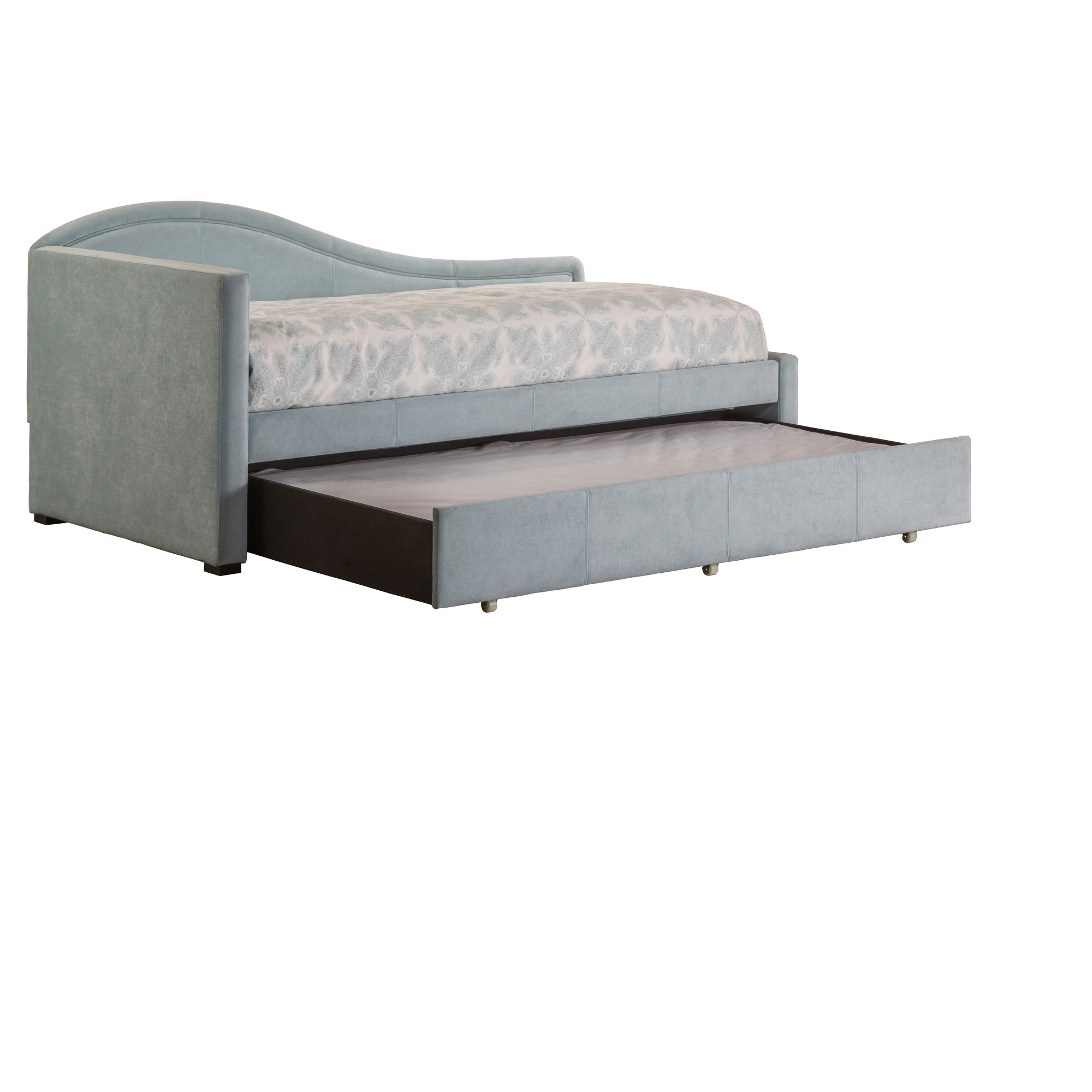 olivia daybed with trundle twin aqua blue hillsdale furniture