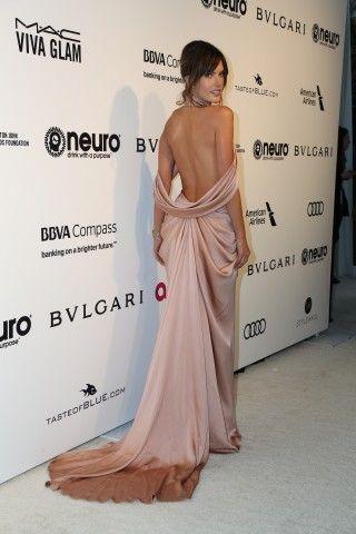 Alessandra Ambrosio all'annuale party Elton John AIDS Foundation's Oscar in California.