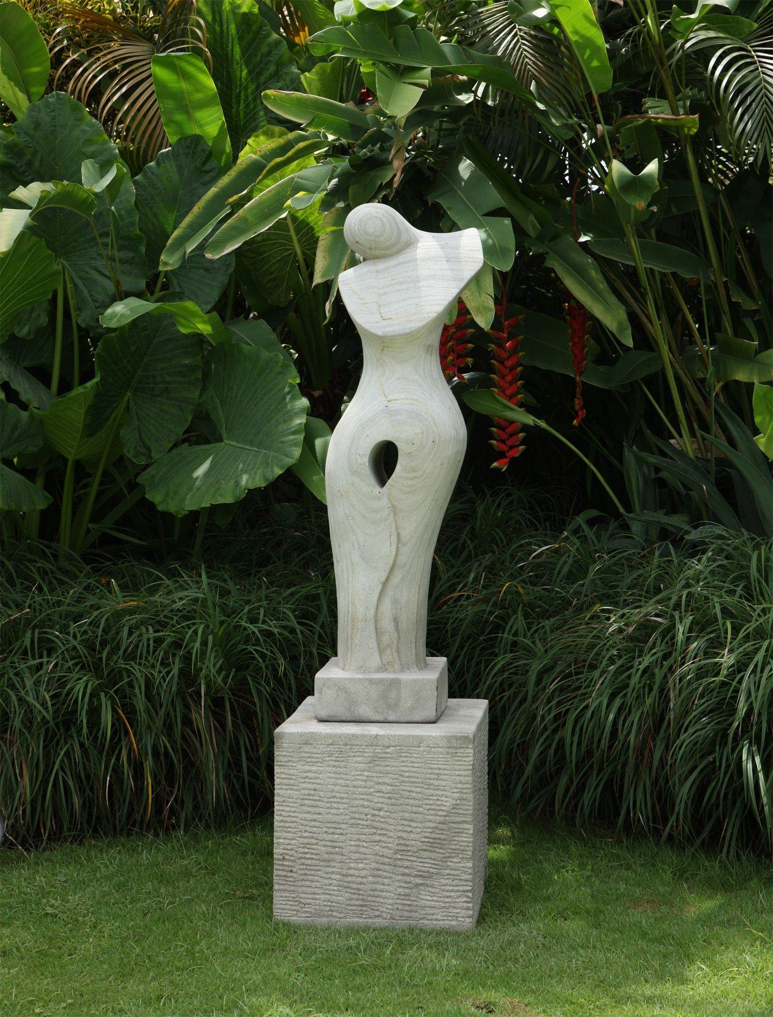 Large Garden Sculptures   Timeless Modern Art Stone Statue