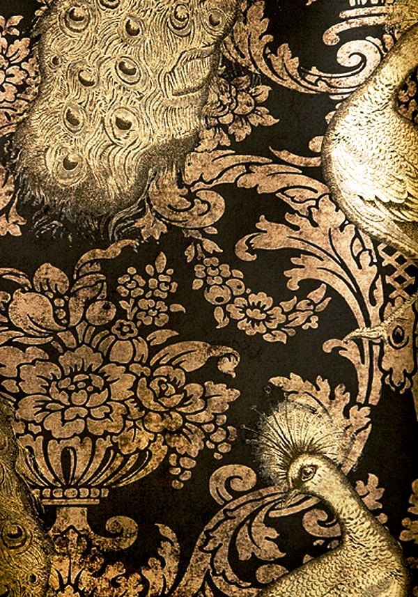 Antique Opulent Wallpaper Inspiration From Blossomgraphicdesign