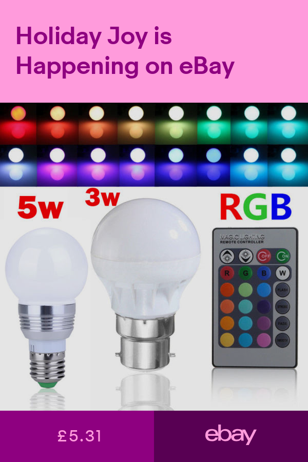 Light Bulbs Home Furniture Diy Ebay Color Changing Lamp