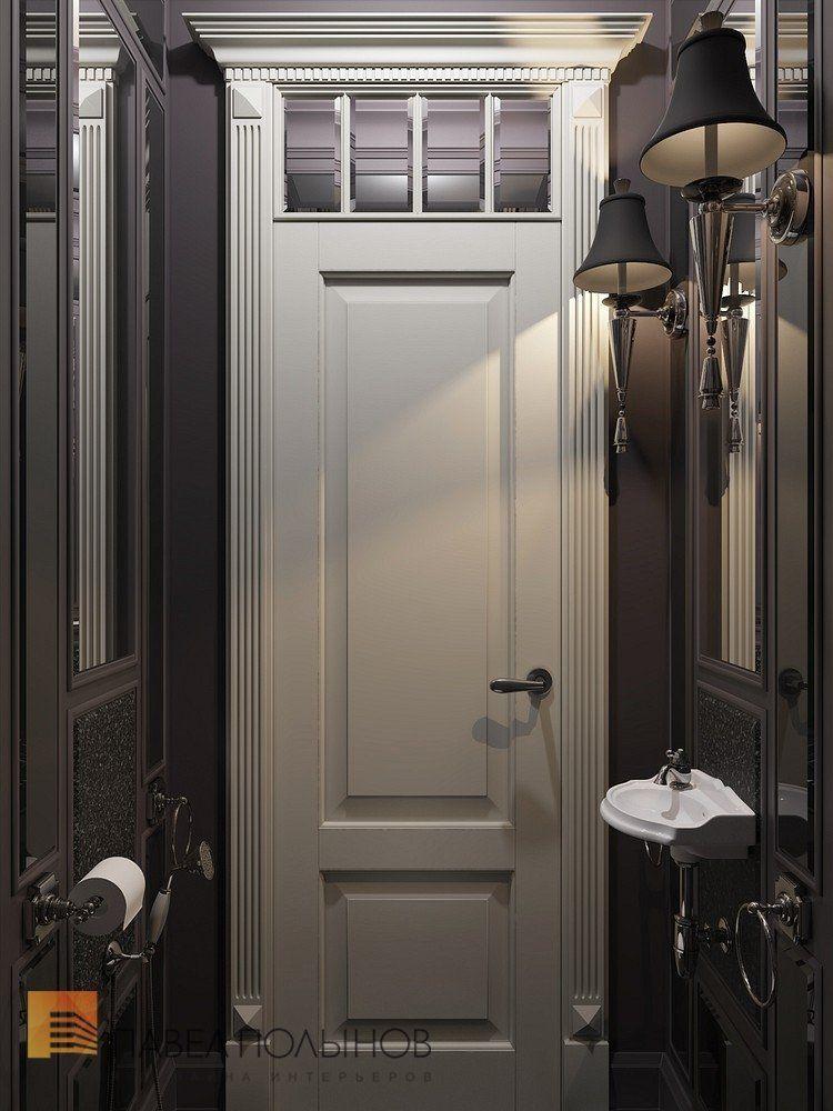 Фото: Санузел - Интерьер шестикомнатной квартиры в классическом стиле, Малый пр. П.С., 160 кв.м.
