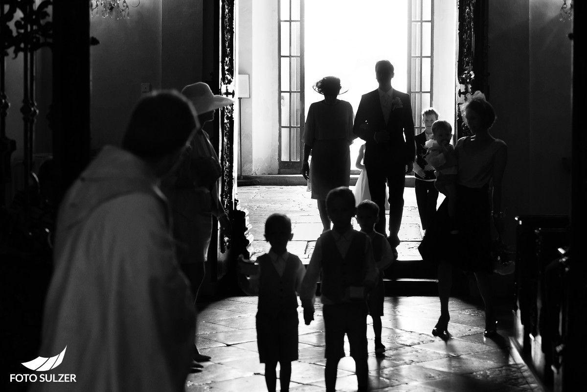 Hochzeit Salzburg Stiftskirche St. Peter Einzug des Bräutigams